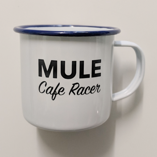Mule Cafe Racer Tin Mug